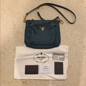 Authentic Prada crossbody bag